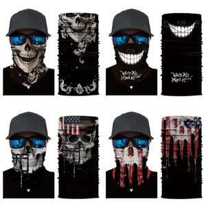 Multi Function Bandana Ski Outdoor Sport Motorcycle Biker Skull Scarf Face Mask Sport Mask Cs Mask Bandana Turban Magic Headsca #553#973