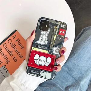 cassa del telefono di moda di lusso di un pezzo per la nuova copertura posteriore del telefono Designer iPhone 11 11Pro 11promax famosa bambola Per i regali