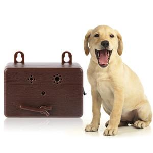 Anti aboiement d'arrêt d'écorce ultrasonique chien Repeller rechargeable Outils de contrôle des aboiements Dissuasion Silencer Dog Training Q1 Supplies Dog Training