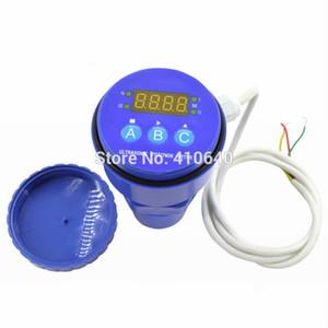 Ultrasonik Seviye Ölçer LED Ekran Ultrasonik Sensör temassız Seviye Ölçüm Cihazı 10 m Aralığı 24 V Güç 4-20mA Çıkışı