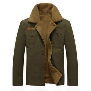 Мужские Куртки Толстые Теплые Зимние Куртки Fit Зимние Пальто Верхняя Одежда Мужской Плюс Размер Шерстяные Смеси Твердые Куртки