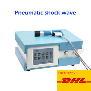 8 Bar Pneumatic Shockwave Therapy Machine Extracorporeal Shock Wave Therapy ESWT Pain Relief Body Massage ED Treatment Clinic Use