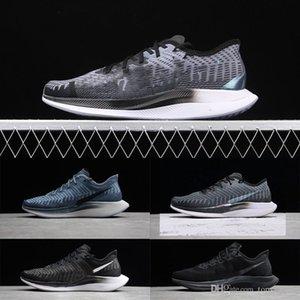 Highest Quality Women Men Running Shoes Zoom Pegasus Turbo 2 Black Grey Sport Sneakers Walking Shoes Euro Size: