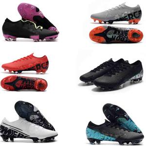 Mens Low Knöchel original Fußballschuhe CR7 Mercurial Dämpfe 13 Elite FG Fußball-Schuhe Superfly XIII 360 Neymar ACC Fußballschuh
