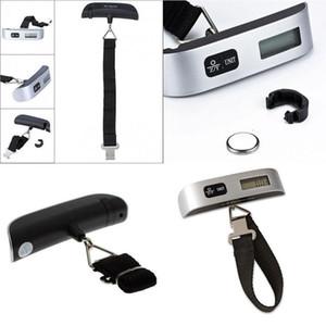 escala de peso 50 kg atacado Viagem Digital Pesando bagagem Escalas Handheld eletrônico Suitcase Sacos com caixa de varejo