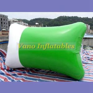 8 m de largo de agua inflable Blob Jump almohada inflable durable de vinilo Catapulta trampolín para la costa uso de la bomba libre del envío libre