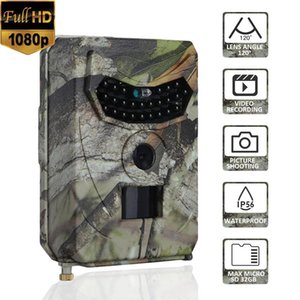 PR100 Hunting Camera Photo Trap 12MP Wildlife Trail Night Vision Thermal Trail Imager Video Cameras for Hunting Scouting Game