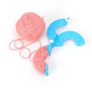 DIY Dikiş Araçları Pompon Seti Plastik Pom Maker Clover Fluff Topu Weaver İğne Craft Örme Araç 4 Boyutları #s