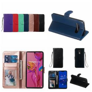 Pour Samsung S10 5G S10e A750 A40 A10 A30 A20E M20 M30 A70 A50 A40 Retro Crazy Horse Wallet Card Holder en cuir vintage fente COUVERTURE