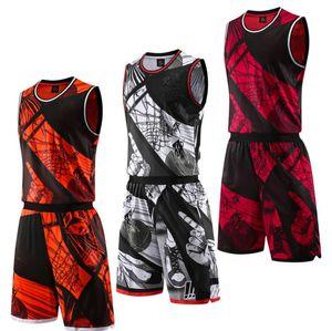 Men's Tracksuits Men Summer T-Shirts Breathable Basketball jersey Sport Suit Casual T Shirt Mens Short Sleeve T-Shirt Shorts Pants Wild Suit
