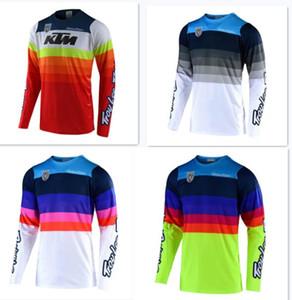 2020 TLD KTM المد العلامة التجارية ملابس ركوب الدراجات جيرسي انحدار الرجال سترة الصيف على الطرق الوعرة الملابس دراجة نارية مخصصة