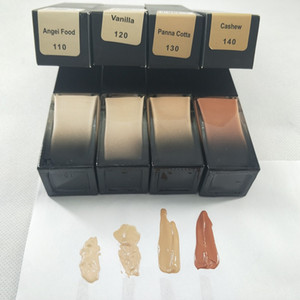 2021 In stock! 4 colors foundation Liquid Foundation milkshake shortbread latte Long Wear waterproof natural matte Face Concealer