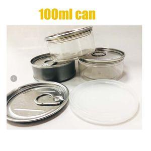 100ml3.5Gram Herbe Flower Pressitine Tin Cans SmartBuds Peut runtz Jungle Boys peut avoir besoin d'une épreuve de serrure d'odeur scellée à la machine Preuve évidente