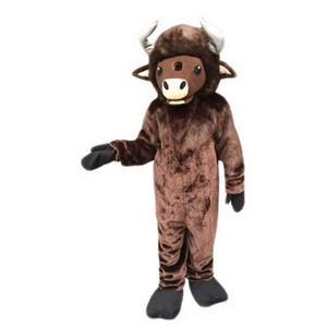 diable de vache mascotte Costume Cartoon Character Taille adulte Longteng (TM) 05