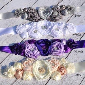 unlIK Simple children's headband decorative roasted edge flower headband set pregnant women's Simple children photo belt photo shooting belt