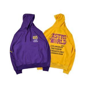 Travis Scott Astroworld hoodies 2020 fashion brand letter print Hoodie streetwear Man and woman Pullover Sweatshirt