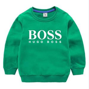 Enfant Sweat-shirts Garçons fille enfants Cartoon coton imprimé Pull Hauts Bébés garçons occasionnels vêtements d'automne pour 2-8 ans