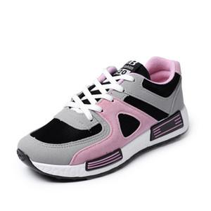 2019 primavera e in autunno sneaker coreano donne all-in-one scarpe casual, scarpe Agan, scarpe da skate traspirante, scarpe da ginnastica a fondo piatto