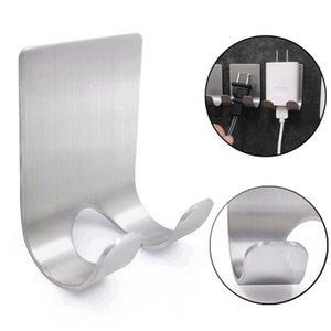 Stainless Steel Razor Holder Storage Hook Men Shaving Shaver Shelf Wall Adhesive Hook Home Bath Accessories HHA1186
