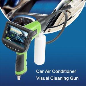 سيارة مكيف الهواء تنظيف بندقية خط أنابيب التفتيش كاميرا بتقنية الكريستال السائل سيارة مكيف الهواء غسل الأنابيب أداة تنظيف التنظير