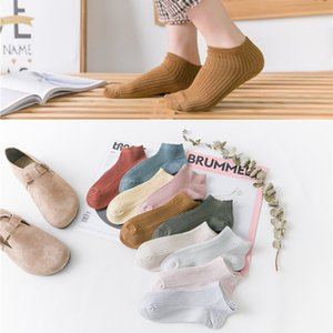 Wholesale 10 Pairs Women Funny Socks Casual Boat Low Lovely Colors Cotton Short Ankle Girls Socks Crew Hot New Arrival