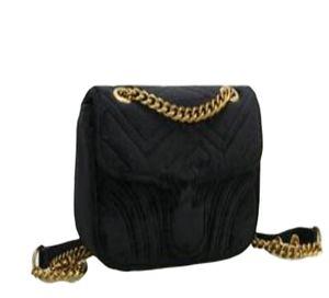 Designer Handbags Marmont Shoulder Bag Women Luxury Crossbody Handbags Famous Designer Shoulder Top Quality Girls Message Hot Chain Letter