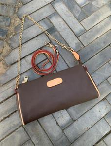 Yeni stil En popüler kemer ve zincir omuz askısı çanta kadın çanta tasarımcısı küçük çanta cüzdan 21cm Feminina