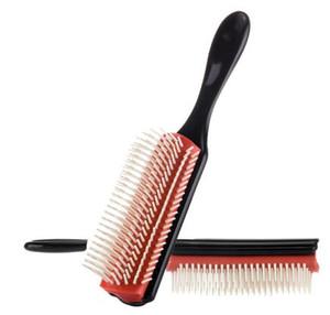 COIFFURE Brosse de paille de blé Detangle brosse à cheveux Salon de coiffure cheveux bouclés droit peigne Tangle Brosse à cheveux