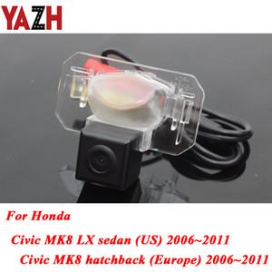 Android Radio Car Rear View Camera For Honda Civic 2006 2007 2008 2009 2010 2011 HD CCD Night Vision Auto Reverse Parking Camera
