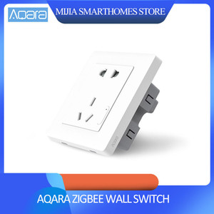 Original Xiaomi Smart Home Aqara Smart Light Control-ZigBee-Wandschalter Buchse Stecker Via Smartphone Xiaomi APP Wireless Remote