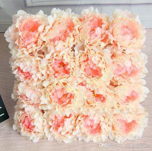 Искусственные цветы Шелковый Пион цветок головы партия свадебные украшения поставки моделирование поддельные цветок глава украшения дома 12 см