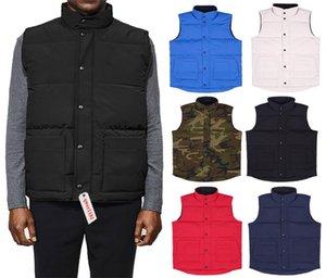 chaqueta de invierno Marca el envío libre de la chaqueta para hombre FreeStyle chaleco chaleco ganso abajo conceden abajo de 5 colores