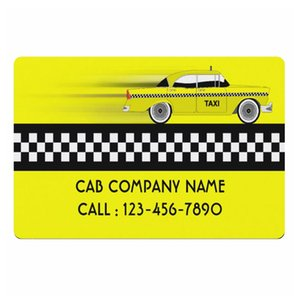 Amarelo verificado Taxi Cab Company Negócios personalizado Bem-vindo Capacho New York Cabs Serviço driver personalizado Doormat Rug Tapete