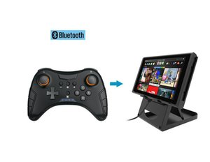 High Quality Switch Wireless Bluetooth Game Controller Vibrating Gyroscope tns-1724For NS PRO DOBE Switch PRO Joystick 3D Handle Not for NFC