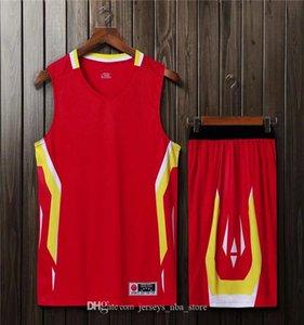 Mens Basketball jerseys Diseño en línea personalizada de los hombres s de malla funcionamiento de la personalidad de tienda de ropa de baloncesto Uniformes costumbre popular G24-4