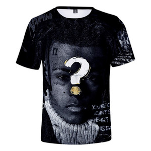 XXXTENTACION Men Tshirts Short Sleeved Fashion USA Shirts Rapper Male Tshirts Teenagers Designer Cool Summer Clothes