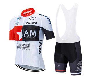 2020 IAM задействуя Джерси Майо Ciclismo с коротким рукавом и шорты Велоспорт нагрудник Велоспорт Kits ремень bicicletas O19122801