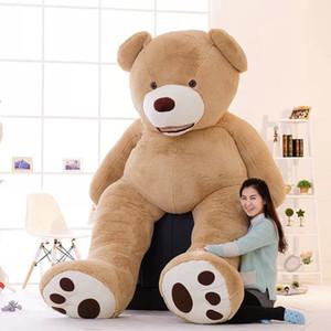Nueva precioso 100cm EE.UU. gigante oso pardo oso de peluche grande niños regalo de cumpleaños que abraza el oso de peluche de juguete muñeca