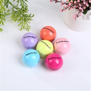 Ball 3D lipstick makeup moisturizing natural plant fruit flavor spherical lipstick lip balm lip care 6 color SZ200 8.2