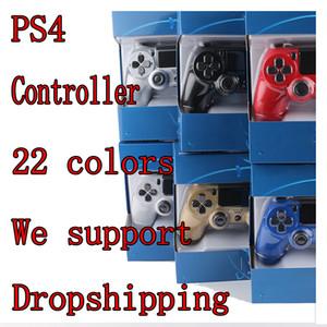 소니 PS4 진동 조이스틱 게임 패드 무선 블루투스 게임 컨트롤러 로고 PS4 컨트롤러 제품과 함께 플레이 스테이션
