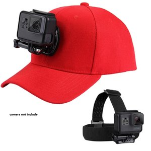 Accessories Kit Camera Head Strap and Baseball Hat Cap W J-Hook Buckle Mount Screw Set for GoPro HERO5 HERO4 Session