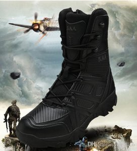 Desert jungle damping handsome Men High-top special tactical combat durable Waterproof shooting military boots