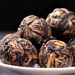 Cina New Puer 100g Cina Yunnan mano Dianhong tè nero Piccolo oro sfera Puer Handmade cinese verde per alimenti