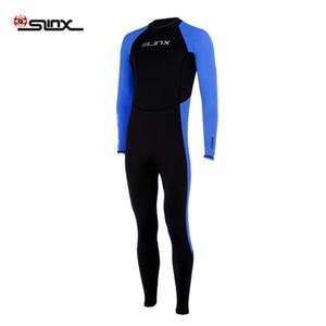 SLINX Sunblock Neoprene High-waist Wetsuit Scuba Diving Suit Surfing Snorkeling Swimming Rashguard Jumpsuit Back Zipper Free Shipping VB
