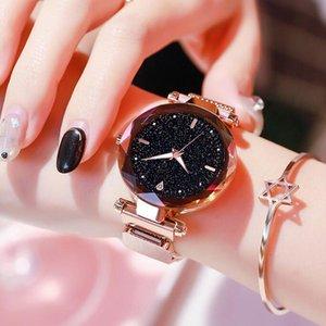 Luxury ladies watch 2020 ladies watch Starry Sky magnetic waterproof female watch luminous relogio feminino reloj mujer designer