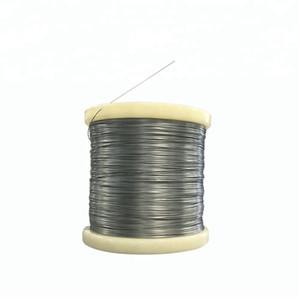 Alambre de aleación de níquel titanio alambre de aleación Nitinol, uso de alambre de aleación de titanio y níquel pesca de china venta caliente