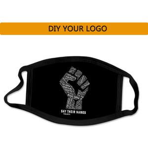 Tasarımcı Maskesi Özel Maske Logo Kişiselleştirilmiş Karşıtı Toz Pamuk Ağız Yüz Siyah DIY 24 saat gemileri giyerek Unisex Bay Bayan Bisiklet Maske!
