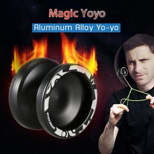 Sihirli Yoyo V3 Duyarlı yüksek hızlı Alüminyum Alaşım Yoyo CNC Torna Spinning Dize Dar C Ölçekli Rulman Profesyonel Yoyo T200116 ile