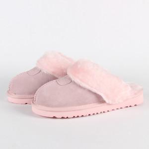 2019 Hot vendita di design classico 51250 calde pantofole pelle di capra pelle di pecora neve stivali Martin Short stivali donne scarpe calde mantengono Free shipping
