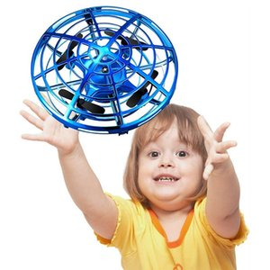 Mini Drone Ufo manuais Rc Helicopter Quadrocopter bola voando Dron infravermelho indução aviões brinquedos para as crianças